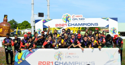 St Kitts and Nevis Patriots Lift Maiden CPL Crown