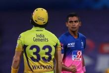 CSK Vs RR: Tyagi Gets Watson; Chennai Struggling At 41/2 (5)