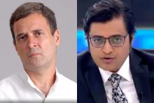 Congress Echoes Rahul Gandhi's Barb On Modi-Arnab Nexus
