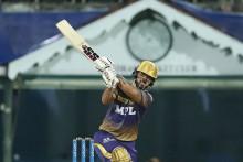 Rana, Tripathi Eye Big Stand; KKR 83/1 In 10 Overs