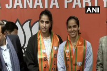 Badminton Star Saina Nehwal Joins BJP Ahead Of Delhi Elections