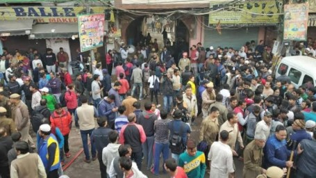 43 Dead In Factory Fire In Delhi's Anaj Mandi Area; Kejriwal Visits Site