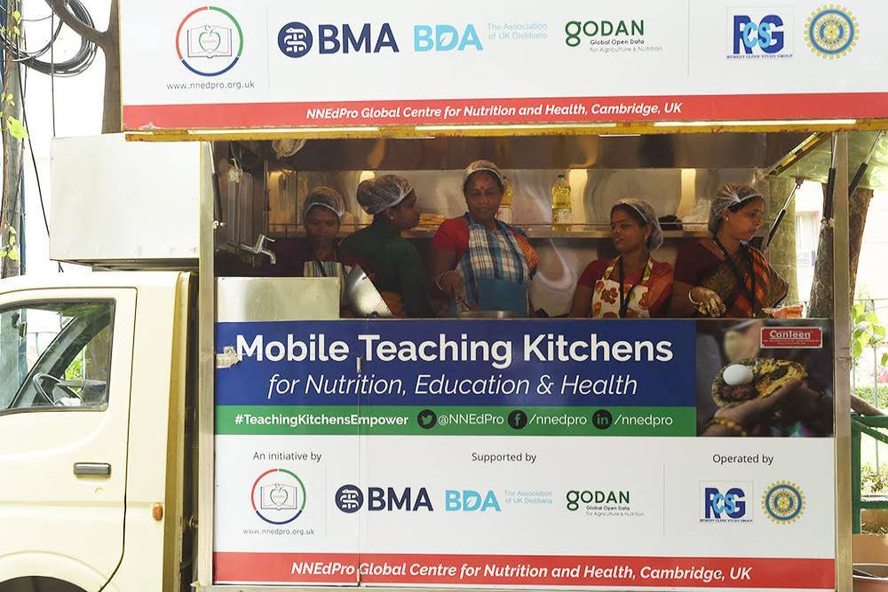 Can A Mobile Teaching Kitchen Target Malnutrition?