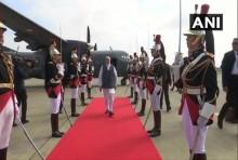 G7 Summit: PM Modi Arrives In France; Kashmir, Trade On Agenda