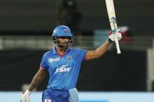 KXIP Vs DC: Four Successive Fifty For Dhawan; Delhi 94/2 (12)