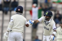 Bad Light Forces Early Tea; India - 120/3 (55.3 Overs)
