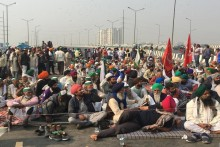 Protesters Continue To Camp At Delhi Borders