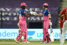 Rajasthan Royals Rout KXIP, Stay In Race For Playoff Spot