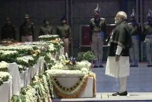 PM Modi, Rahul Gandhi Pay Tribute To Martyred CRPF Soldiers