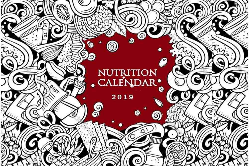 Nutrition Calendar 2019