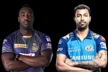 KKR Vs MI LIVE: All Eyes On Russell, Hardik In Abu Dhabi