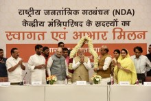 At Amit Shah's 'Thanksgiving' Dinner To NDA Allies, PM Modi Says 'People Fought These Lok Sabha Polls'