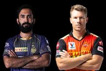 KKR VS SRH LIVE: Kolkata Keep Warner, Bairstow In Tight Leash