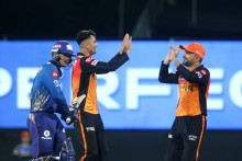 Mujeeb Gets Ishan As MI Struggle To Score Freely