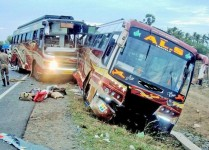 19 Killed, Several Injured As Kerala-Bound Bus Collides With Lorry In Tamil Nadu
