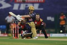 KKR VS SRH LIVE: Gill, Morgan Pacing Nicely; Kolkata 72/3 (10)