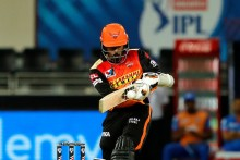 SRH Vs DC: Nortje Gets Saha; Hyderabad Eye Massive Total