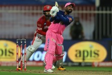 RR Vs KXIP LIVE: Six-Hitting Tewati Swings It Royals' Way, Need 2 From 4