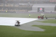 4th Test, Day 2: Rain Stops Play; IND Lose Openers