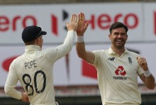 Anderson Gets Rahane, India 80/4 At Lunch
