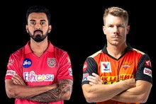 KXIP Vs SRH: KL, Gayle Warming Up; Punjab 60/1 (8)
