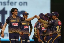 KKR VS SRH LIVE: Warner Keeps Scoreboard Ticking; 47/1 (7)