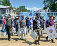 Kashmir's Empty Voting Machines