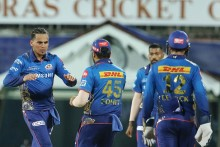 KKR's Chase Becomes Tricky As MI Take Quick Wickets; Need 22 Off 18