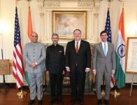 Mike Pompeo, US Defence Secretary Esper To Visit India Next Week For 2+2 Talks