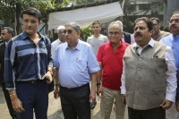 Sourav Ganguly Files Nomination For BCCI Supremo's Post