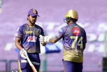 KKR Vs DC: Rabada Gets Narine For 64; Kolkata 161/4 (17)