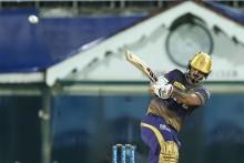 Nitish Rana Departs After Hitting 56-ball 80