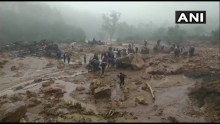 14 Dead, Over 50 People Trapped In Landslide In Kerala After Heavy Rains