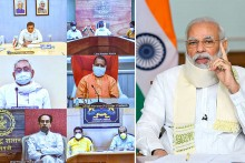 PM Modi Interacts With CMs Of 10 States To Take Stock Of Coronavirus Situation