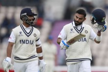 Play Resumes; Fifty-run Stand For Virat Kohli, Ajinkya Rahane