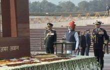 Republic Day Live Updates | PM Modi Arrives At Rajpath After Paying Homage To Martyrs At War Memorial