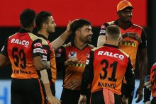 SRH Vs DC: Double Wicket For Rashid; Delhi Four Down