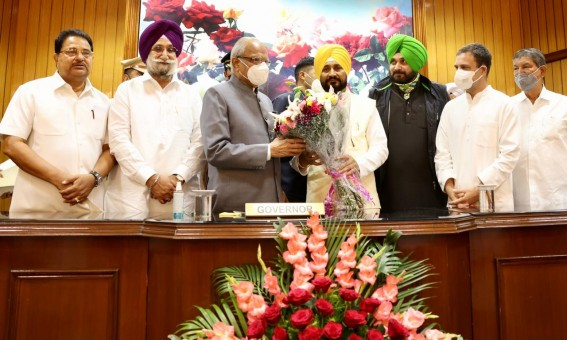 Charanjit Singh Channi Takes Oath As 16th Punjab CM, Rahul Gandhi Attends Swearing-In