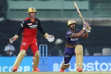 Washington Sundar Strikes, Rahul Tripathi Out For 25