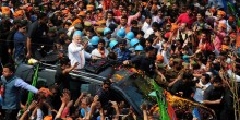 PM Modi To Hold Mega Roadshow In Varanasi Today; To File Nomination Tomorrow