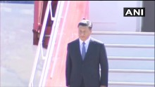 Xi Jinping Arrives In Chennai For Informal Summit With PM Modi