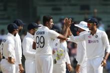Day 2: India Need 38 Runs After Patal-Ashwin Show
