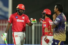 Mandeep, Gayle Blitz Helps KXIP Blow Away KKR; Boost Playoff Chances
