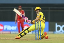 Gaikwad Exits, du Plessis Steady As CSK Need 75 from 84 balls