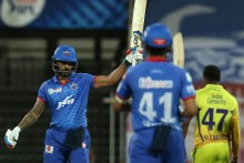 DC Vs CSK: Dhawan Keeps Delhi In Hunt, Need 51 In 30