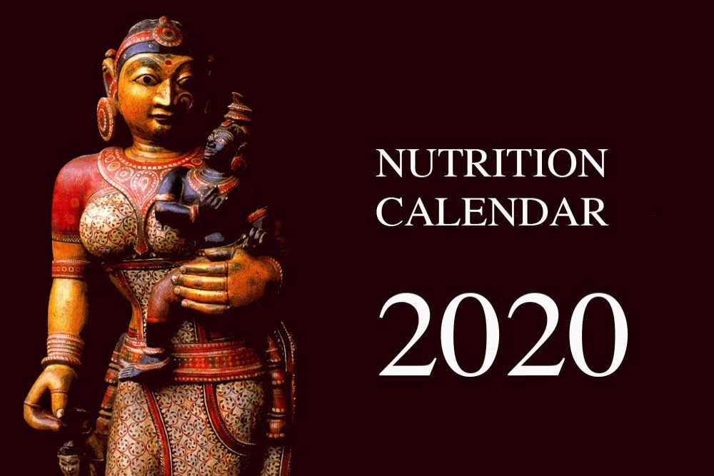 Nutrition Calendar 2020