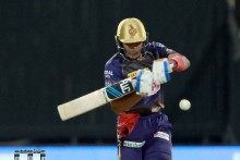 KKR Vs KXIP: Gill Soaks Up Pressure, Hits Fifty; Kolkata 113/5 (14)