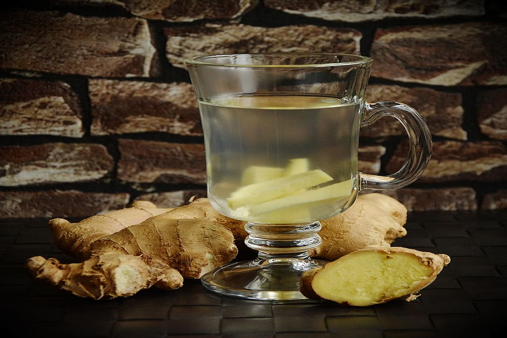 The goodness of ginger tea