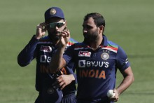 2nd ODI: Shami Gives Breakthrough, Finch Out