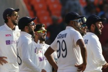 Sundar Gets Stokes, England Five Down